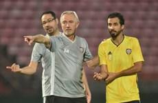 Cận cảnh UAE 'luyện công' chuẩn bị đối đầu tuyển Việt Nam