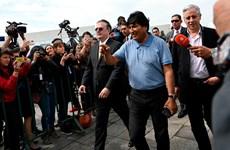 Cựu Tổng thống Bolivia Evo Morales tới Mexico tị nạn chính trị