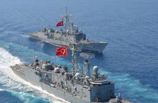 Lực lượng hải quân các nước tham gia tập trận tại Đông Địa Trung Hải