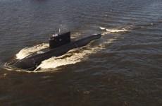 Nga: Thủy thủ tàu ngầm tuần dương diễn tập cứu hộ ở Kamchatka