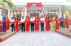 Trao tặng Tủ sách Đinh Hữu Dư cho học sinh vùng khó khăn ở Nghệ An