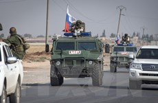 Nga triển khai thêm cảnh sát quân sự tới miền Bắc Syria