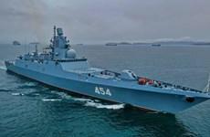 Nga: Chiến hạm Đô đốc Gorshkov thử nghiệm tên lửa mới trên Biển Trắng