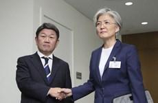 Ngoại trưởng Nhật Bản và Hàn Quốc gặp nhau ở thành phố Nagoya