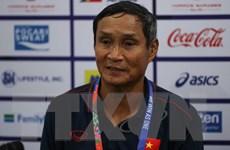 Huấn luyện viên Mai Đức Chung hài lòng với kết quả hòa Thái Lan
