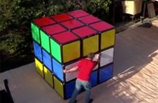 Video cận cảnh thiết kế một chiếc rubic to nhất thế giới