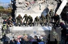 Người dân Albania tưởng niệm các nạn nhân trong trận động đất