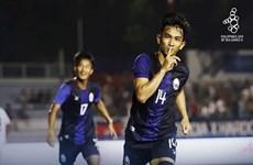 SEA Games 30: U22 Campuchia giành ngôi đầu sau chiến thắng hủy diệt