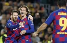 Kết quả Champions League: Barcelona thẳng tiến vòng knock-out