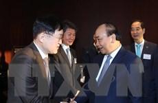 Thủ tướng Nguyễn Xuân Phúc tọa đàm với nhà đầu tư hàng đầu Hàn Quốc