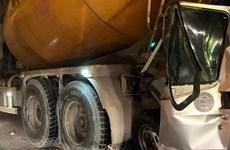 Yên Bái: Ôtô tải mất lái đâm vào xe máy làm hai người thương vong