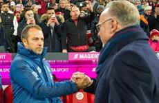 Hansi Flick sắp được nhận 'quà' từ ban lãnh đạo Bayern Munich