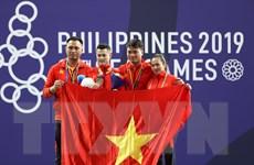 Bảng tổng sắp SEA Games 30: Philippines bứt tốc, Việt Nam xếp thứ 2