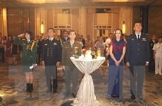 Kỷ niệm 75 năm ngày thành lập Quân đội Nhân dân Việt Nam tại Singapore