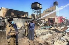 Cháy ở Sudan: Thương vong tăng mạnh, có nhiều người nước ngoài