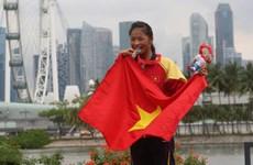 Trương Thị Phương giành cú đúp huy chương Vàng tại SEA Games 30