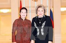 Chủ tịch Quốc hội phát biểu tại Phiên họp toàn thể Hội đồng LB Nga