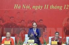 [Video] Thủ tướng gặp mặt U22 Việt Nam và đội tuyển bóng đá nữ