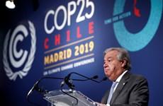 Hội nghị COP 25: Tổng thư ký LHQ thất vọng về kết quả hội nghị