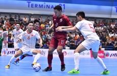 Tuyển Việt Nam thua Thái Lan ở trận 'chung kết' futsal Thai Five 2019