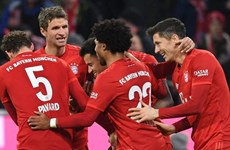 Bayern và Dortmund thắng hủy diệt, RB Leipzig trở lại ngôi đầu