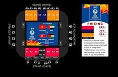 Giá vé trận U23 Việt Nam và U23 UAE cao nhất hơn 300.000 đồng