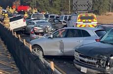 Mỹ: Gần 70 ôtô đâm nhau tại bang Virginia, hàng chục người nhập viện