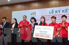Đội tuyển bóng đá nữ Việt Nam được 'tiếp sức,' hướng tới World Cup