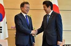 Lãnh đạo Nhật-Hàn gặp thượng đỉnh đầu tiên trong hơn 1 năm