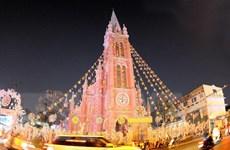Rực rỡ sắc màu mùa Giáng sinh 2019 ở Thành phố Hồ Chí Minh