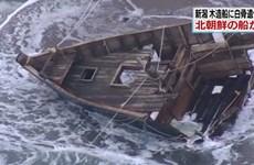 Nhật phát hiện nhiều thi thể trên thuyền nghi ngờ là đến từ Triều Tiên