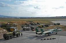 Syria: Phiến quân dùng máy bay không người lái tấn công căn cứ Hama