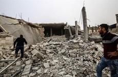 Mỹ không kích tại Iraq và Syria, khiến hơn 50 người thương vong