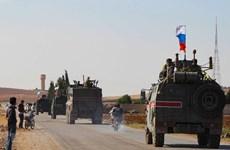 Quân cảnh Nga tuần tra tại các tỉnh Aleppo và Hasakah của Syria