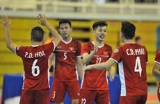 Đội tuyển Việt Nam công bố danh sách chuẩn bị cho VCK futsal châu Á