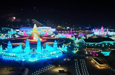 [Video] Kỳ vĩ Lễ hội băng tuyết quốc tế thường niên Cáp Nhĩ Tân