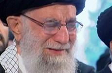 [Video] Giáo chủ Iran Ali Khamenei khóc thương Tướng Soleimani