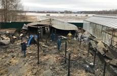 Vụ cháy ở Moskva: Những người thiệt mạng có thể là công dân Việt Nam
