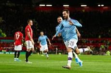 M.U bại trận trước Man City ngay tại thánh địa Old Trafford