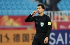 Công bố danh tính trọng tài bắt chính trận U23 Việt Nam-U23 UAE