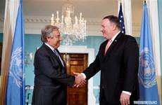 Ngoại trưởng Mỹ thảo luận với Tổng Thư ký LHQ về tình hình Trung Đông