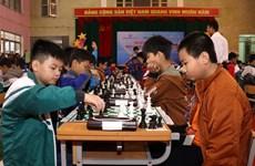Lào Cai: Hơn 400 VĐV dự giải Cờ vua Fansipan tranh Cúp Vietcombank