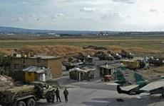 Máy bay chiến đấu Israel không kích căn cứ không quân Syria