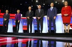 Mỹ: Các ứng cử viên đảng Dân chủ tranh luận trực tiếp vòng cuối