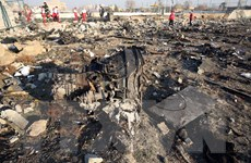 Xuất hiện video cảnh tên lửa Iran bắn trúng máy bay Ukraine
