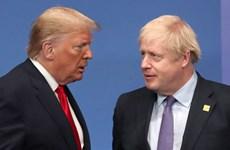 Anh hy vọng mở đàm phán thương mại với Mỹ trước khi thương thảo với EU