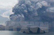 Philippines ban bố lệnh cấm đi lại ở khu vực quanh núi lửa Taal