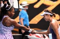 Tay vợt Trung Quốc thắng sốc Serena tại Australian Open 2020