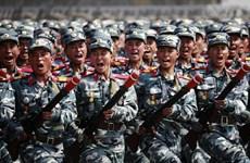 'Triều Tiên tập trung quy mô lớn quân đội tập huấn duyệt binh'