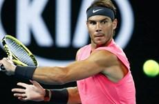 Rafael Nadal thẳng tiến vào vòng 4 sau trận 'nội chiến'